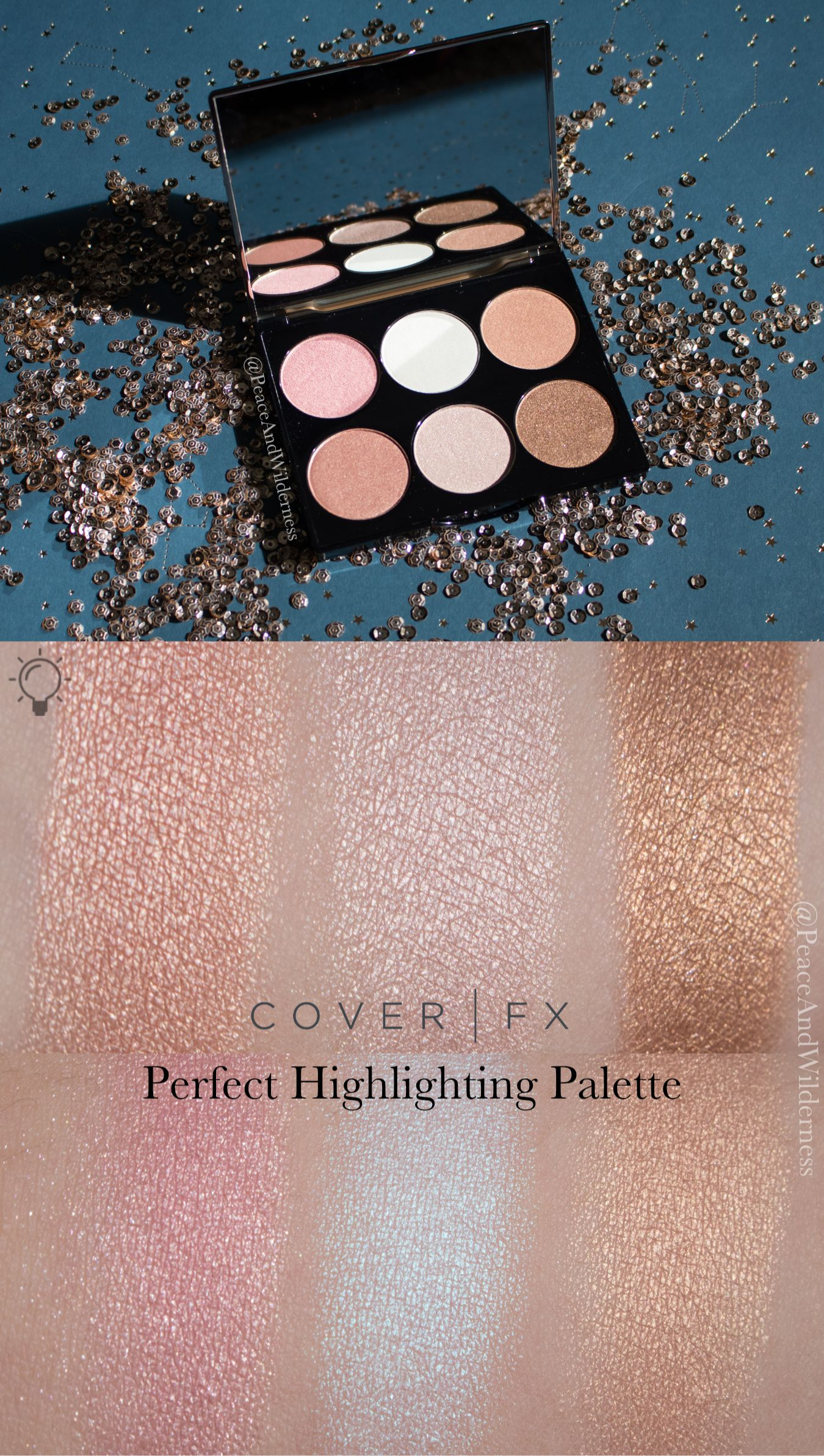 Cover FX Perfect Highlighting Palette ⋆REVIEW & SWATCHES