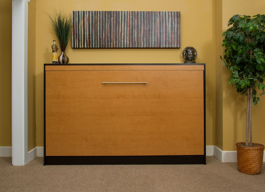 horizontal murphy bed kit design