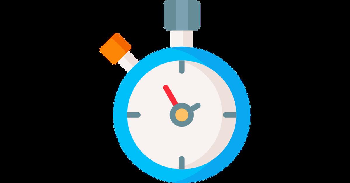 Stopwatch Icon Symbol Sign Symbols Free Vector Illustration Blue Fabric Texture