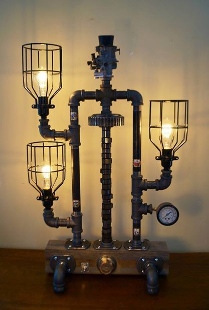 Steampunk Lamps Steampunk Canada | Shabby chic