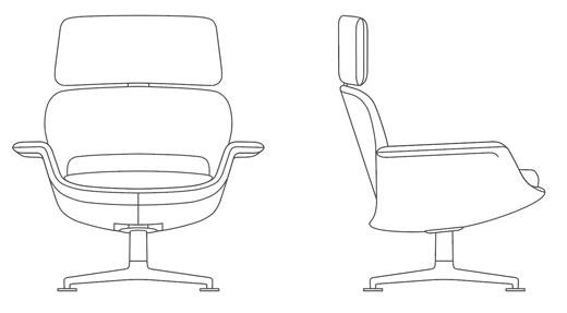 KN™ High Back Lounge | Knoll | Lounge, Co design