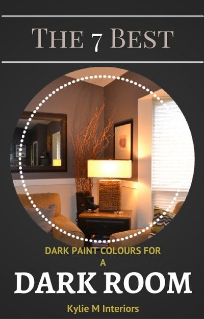 The 10 Best Dark Colours For A Dark Room Or Basement Family Room Paint Basement Colors Family Room Paint Colors