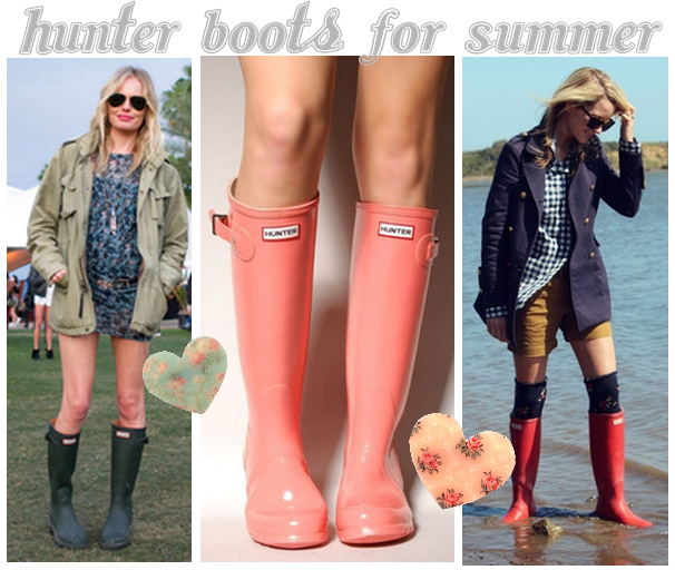 Hunter boots in the summer!   Clothes   Pinterest   Http://www ...