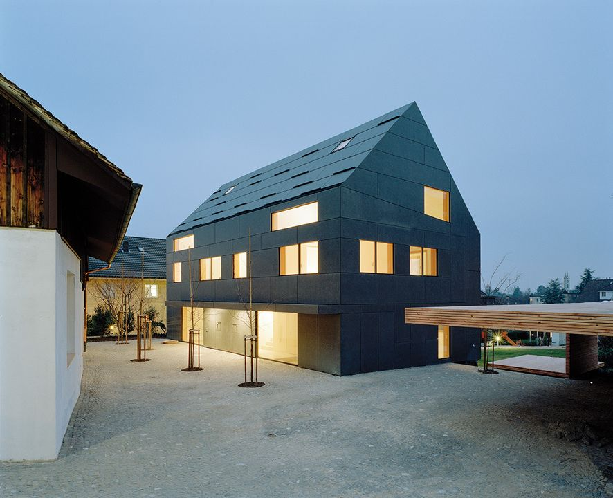 Swisspearl Fiber Cement Roof Panels From Swisspearl Roof Cladding Minimalist Architecture Architecture