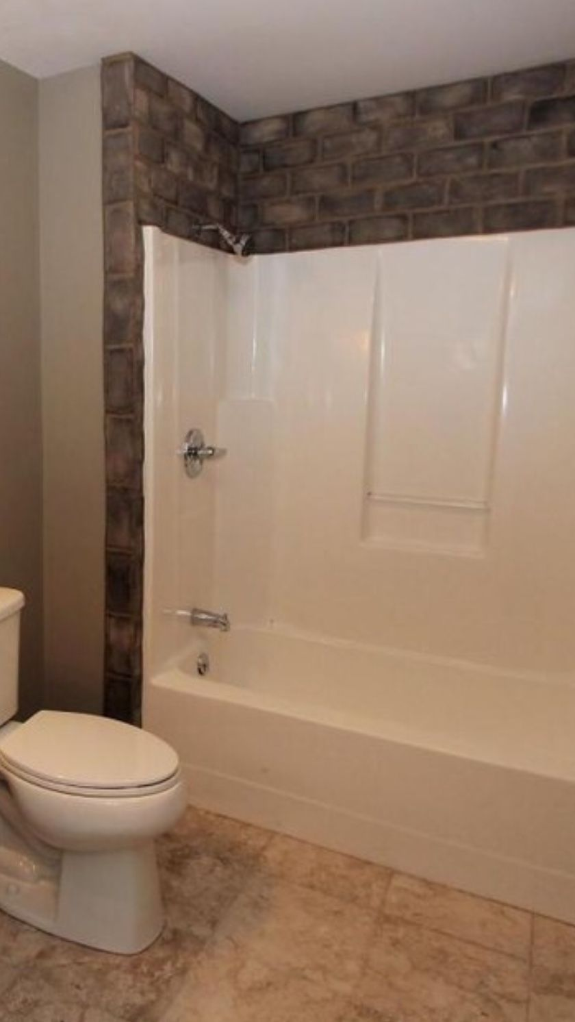 Tile Around Fiberglass Tub Surround Tub Remodel Bathtub Walls