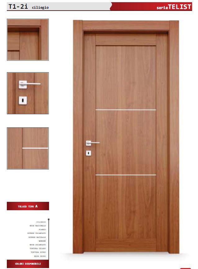 porta telist t1 | Porte interne economiche, Interni e Porte ...