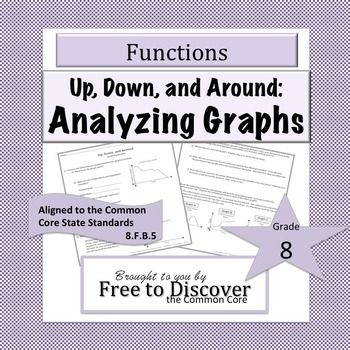 Analyzing Graphs Discovery Worksheet Worksheets Printables