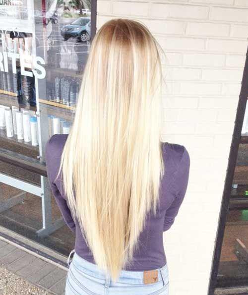 Beste Layered V-Form Haarschnitte | Haarschnitt ...