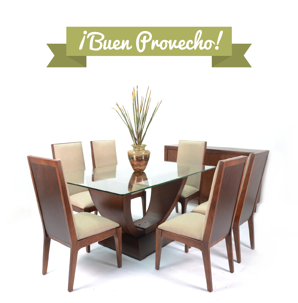 Comedor moderno mesas pinterest center table dining for Sala comedor kitchenette