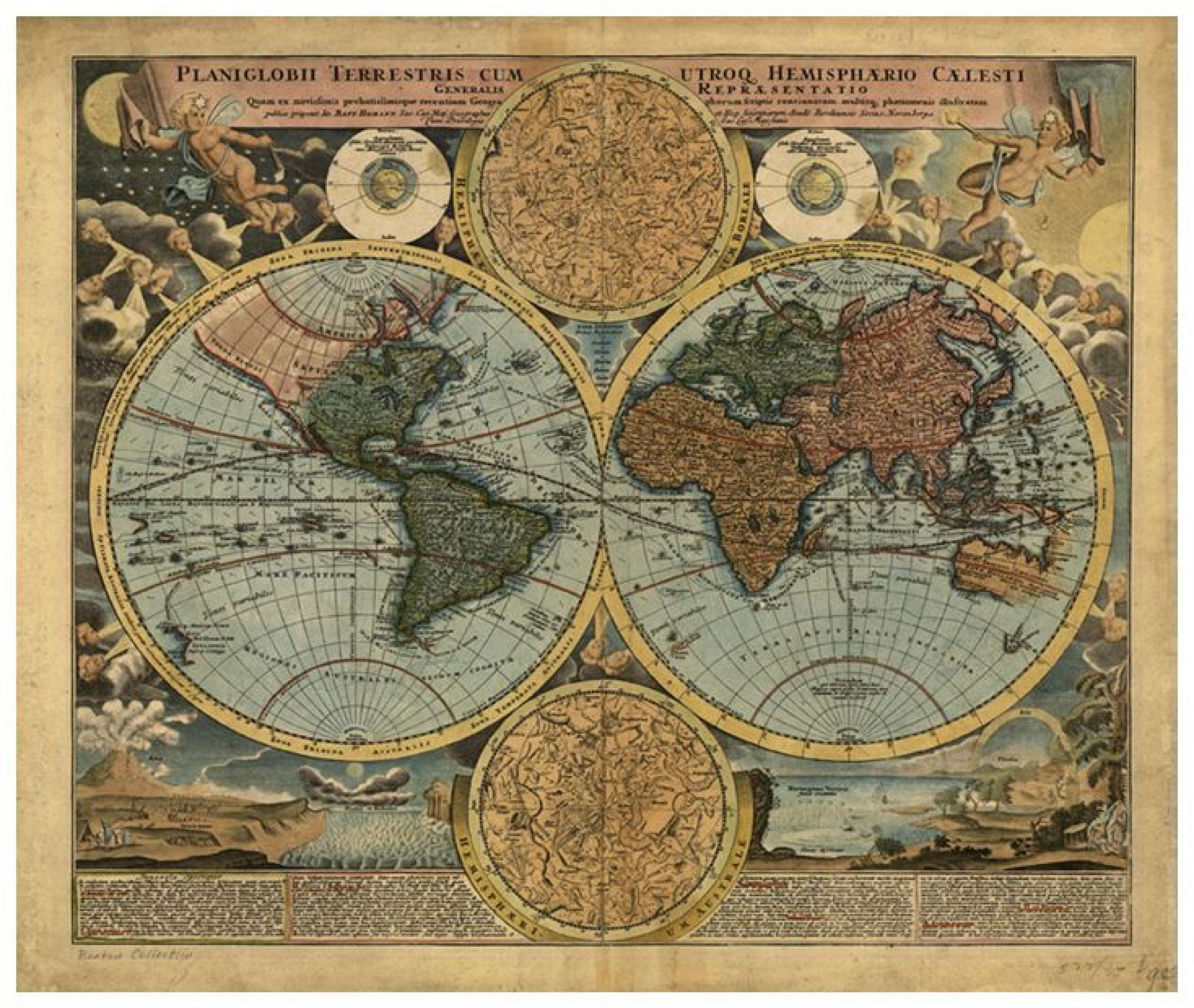 World Map Mural P111502 7