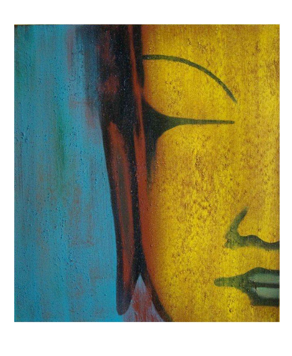 Buddhist wall painting