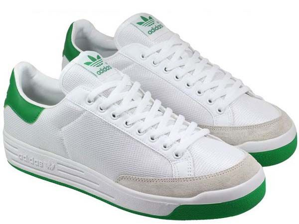 new products de5e2 c2b53 adidas ROD LAVER  WHITE GREEN  (G99863)