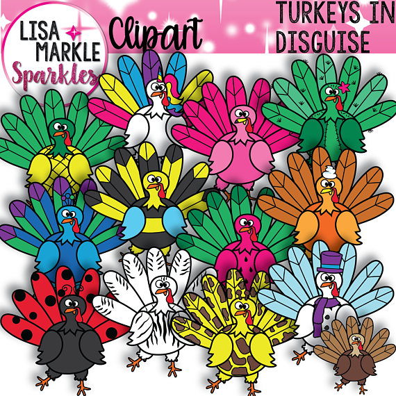 Turkey Clipart Thanksgiving Clipart Fall Clipart Etsy Turkey Disguise Project Turkey Disguise Turkey Project