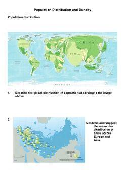 Printables Population Density Worksheet 1000 images about environment on pinterest