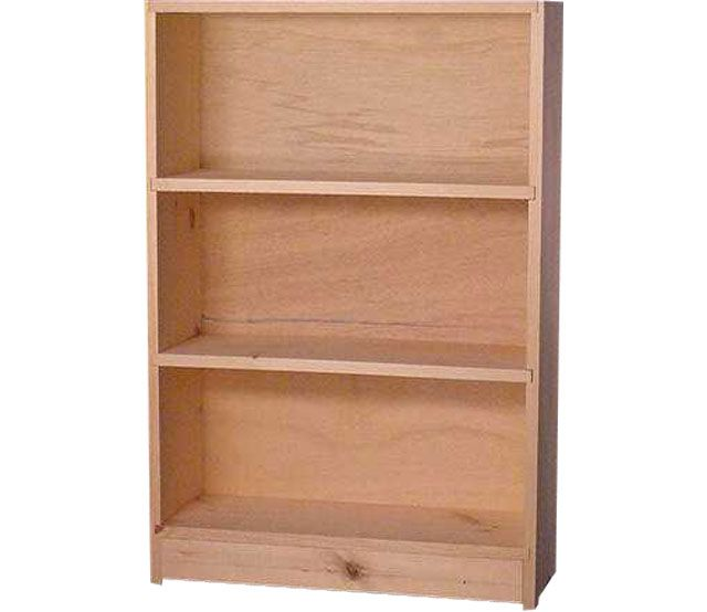 Cottage Bookcase 24x36. $50 | Pine bookcase, Contemporary bookcase