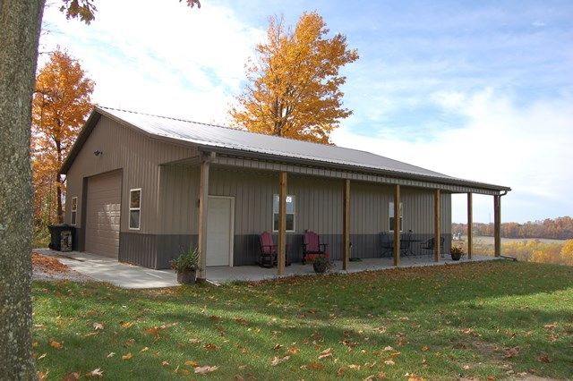 Pole barns direct offers a wide selection of extremely for Residential barns