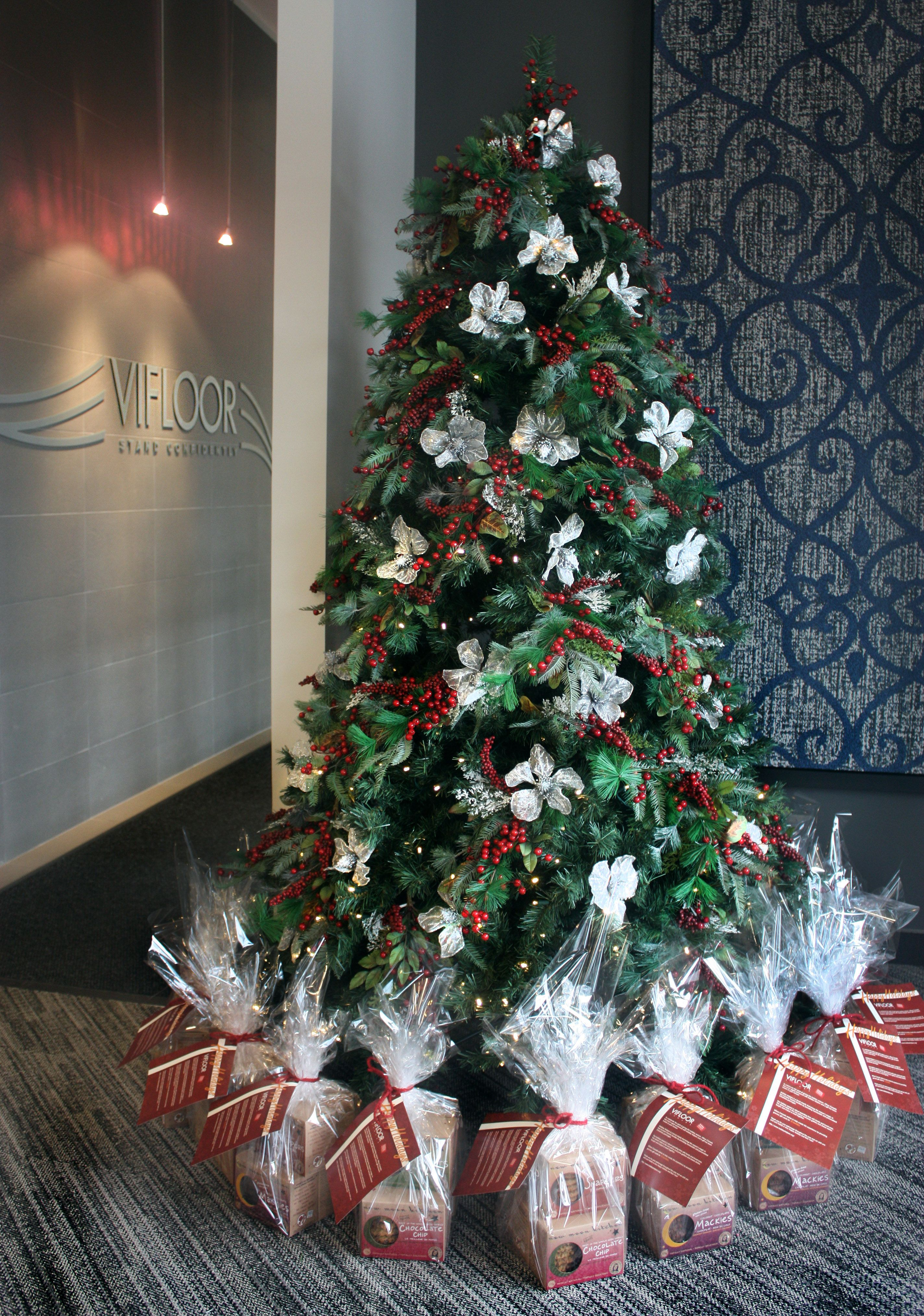 Our Office Christmas Tree Happy Holidays And Happy New Year