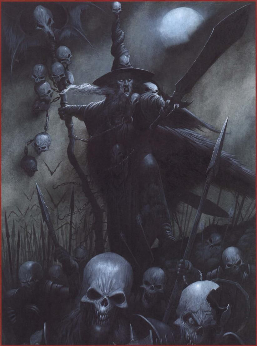 Heinrich Kemmler is a great and feared Necromancer  During