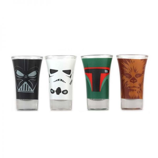 These Star Wars Mini Glasses Are Great For Shots And Look Fabulous