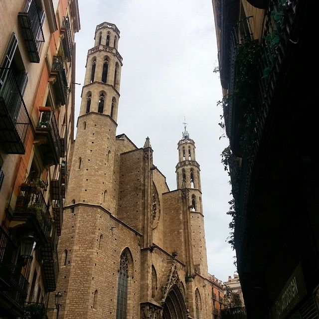 Santa Maria del Mar, Barcelona, Spain