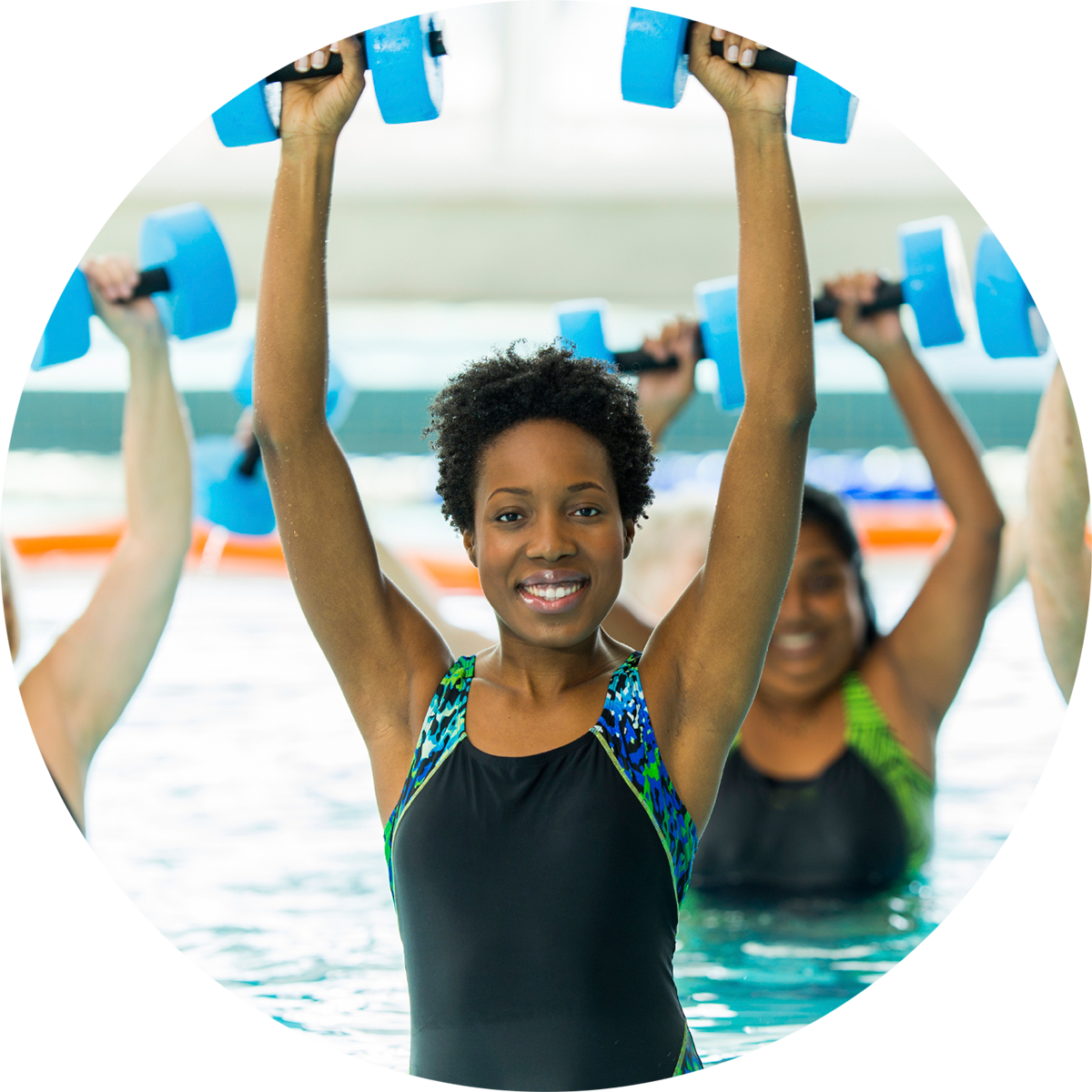 Water exercises, Pool workout, Swimming
