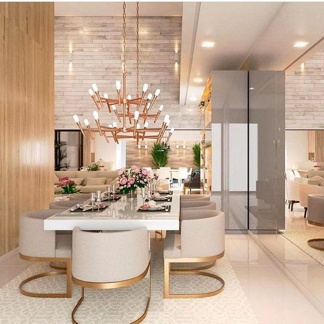 19 Ideas For Creating A Modern Dining Room: 36+ Round Dining Tables To Create A Cozy And Modern