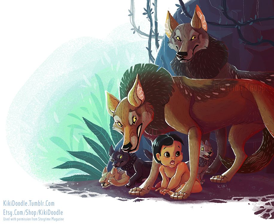 Jungle Book Mama Wolf Jungle Book Disney Fan Art Disney Drawings