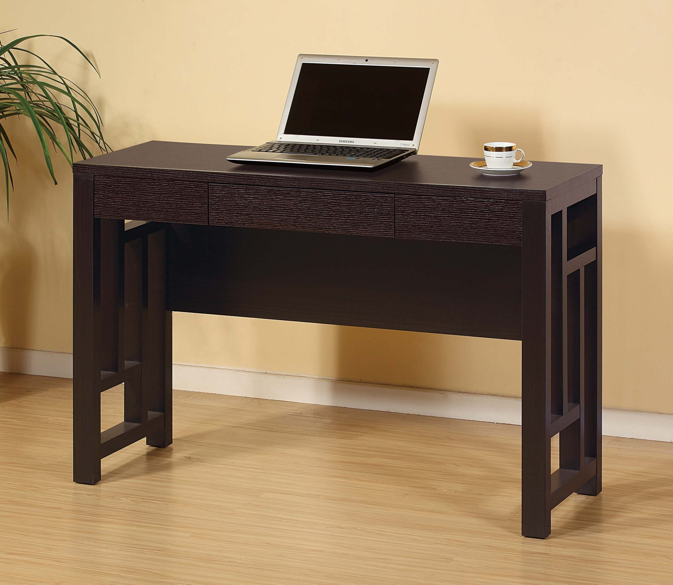 14927 Sofa Table/Desk Features A Shallow Depth For