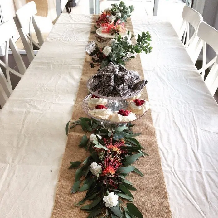 121 Christmas Table Settings Ideas Elegant And Simple 26 Androidtips Me Christmas Decorations Australian Christmas Centerpieces Christmas Table Decorations