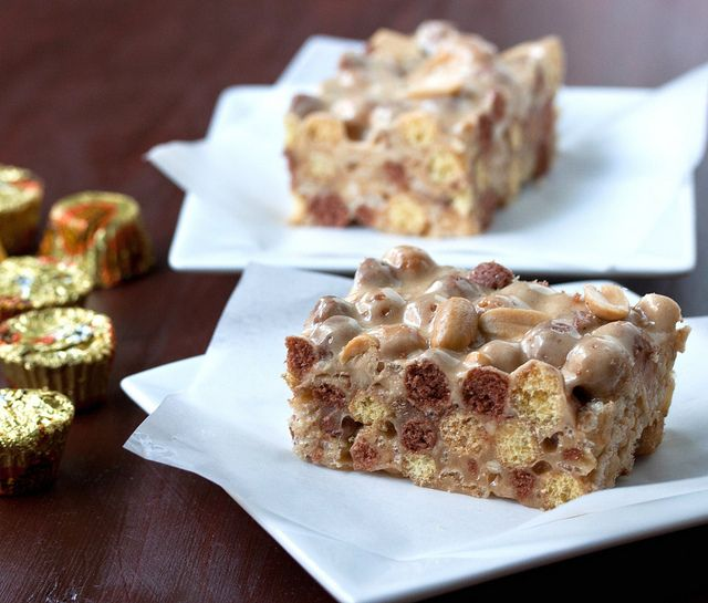 Reese's Puffs Peanut Butter Treats by DaydreamerDesserts, via Flickr