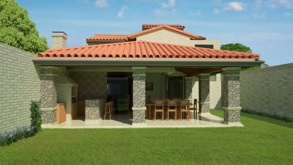 Quincho Moderno De Lujo Diseños De Casas Rusticas