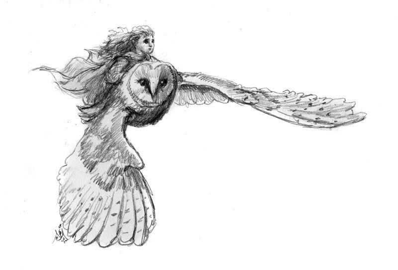 Glimfeather & Jill by Jef Murray   Narnia   Pinterest ...