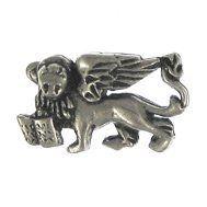 St Marku0027s Lion Lapel Pin Jim Clift Design.