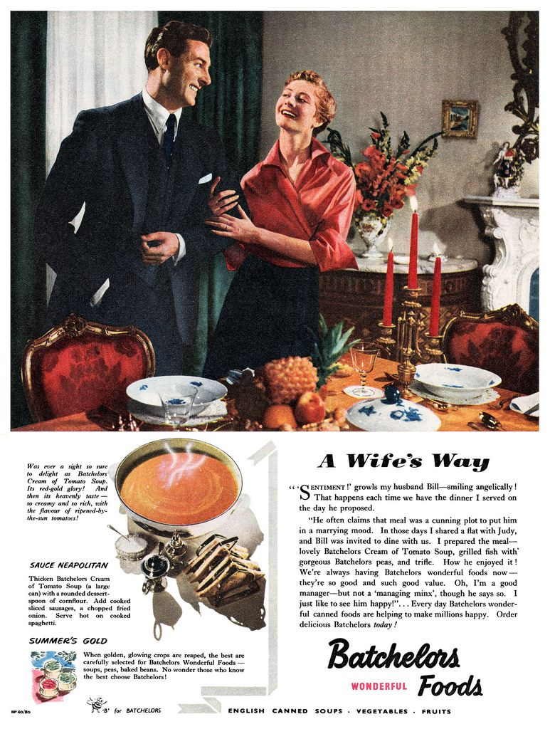 1952 Batchelor's Foods ad | by totallymystified