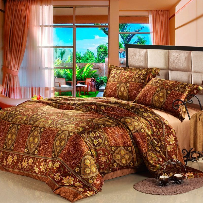 India Comforter Sets Indian Style 100 Organic Silk