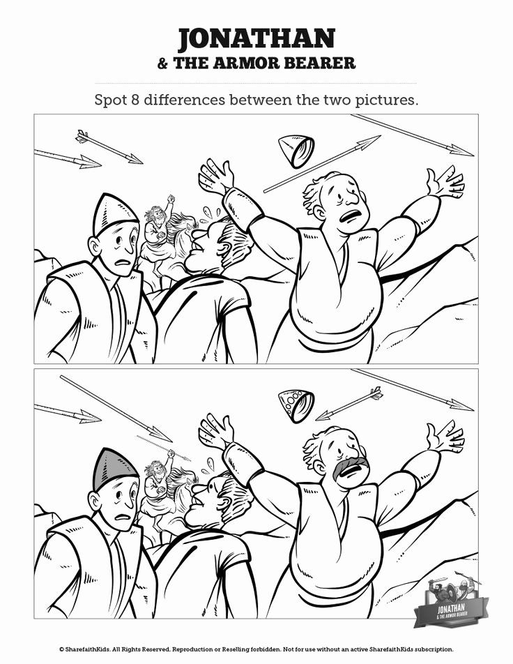 David and Jonathan Coloring Page Luxury 17 Best Images