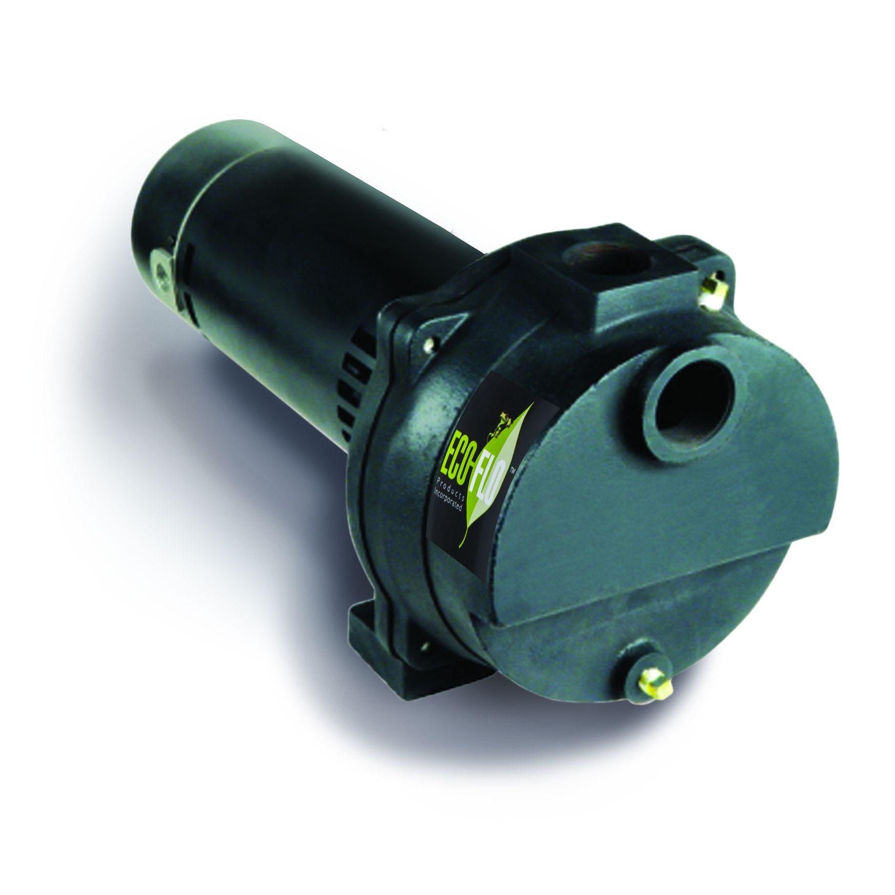 Eco-Flo Products EFLS10 1 HP Cast Iron Irrigation Pump (EFLS10 ...