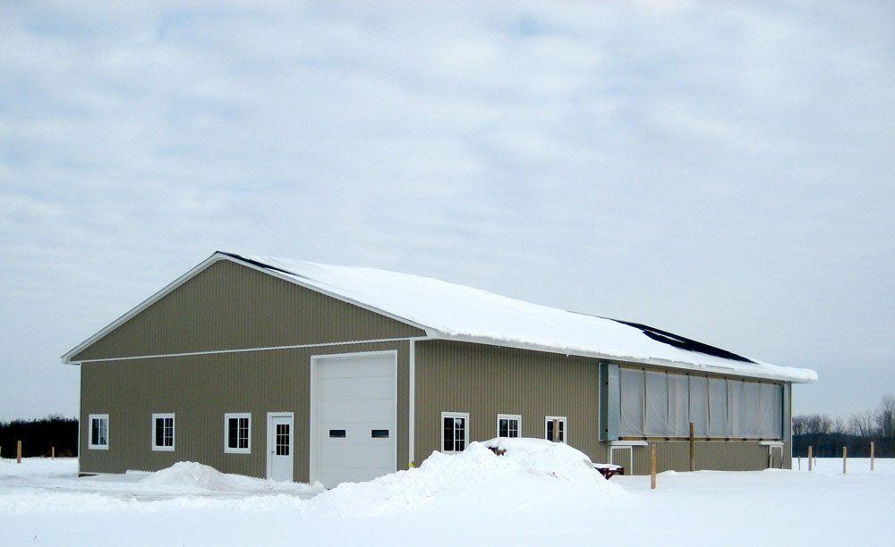 Livestock Barn, Ontario - Agway Metals Inc. | Steel buildings