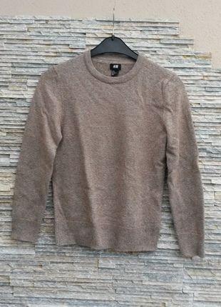 Kaufe meinen Artikel bei #Kleiderkreisel http://www.kleiderkreisel.de/herrenmode/pullis-and-sweatshirts-sonstiges/111006528-brauner-wollpulli-mit-ellbogenaufnahern-grosse-s