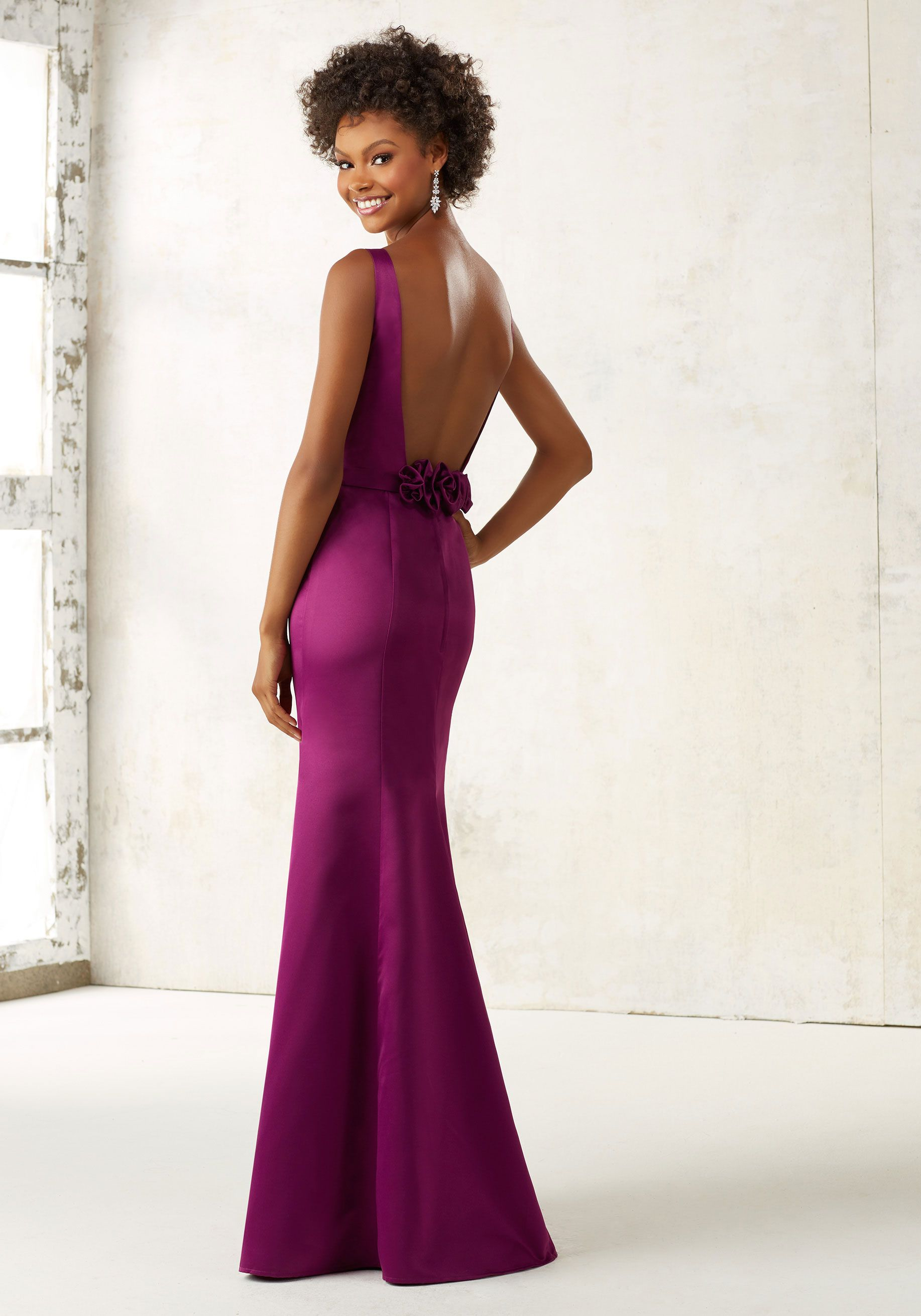 Morilee by madeline gardner bridesmaids style 21519 this sexy mori lee 21519 long open back bridesmaid dress let your beauty stand out in this graceful design from mori lee this is a bridesmaids dress with a satin ombrellifo Choice Image