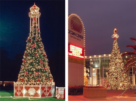Commercial Christmas Trees Outdoor Artificial Christmas Trees
