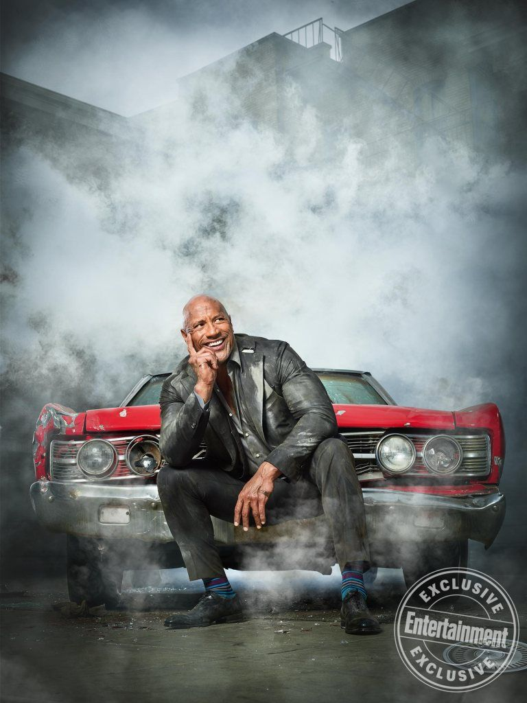 Get Behind The Wheel With Ew S Exclusive Hobbs Shaw Cover Shoot Dwayne Johnson Movies The Rock Dwayne Johnson Dwayne Johnson