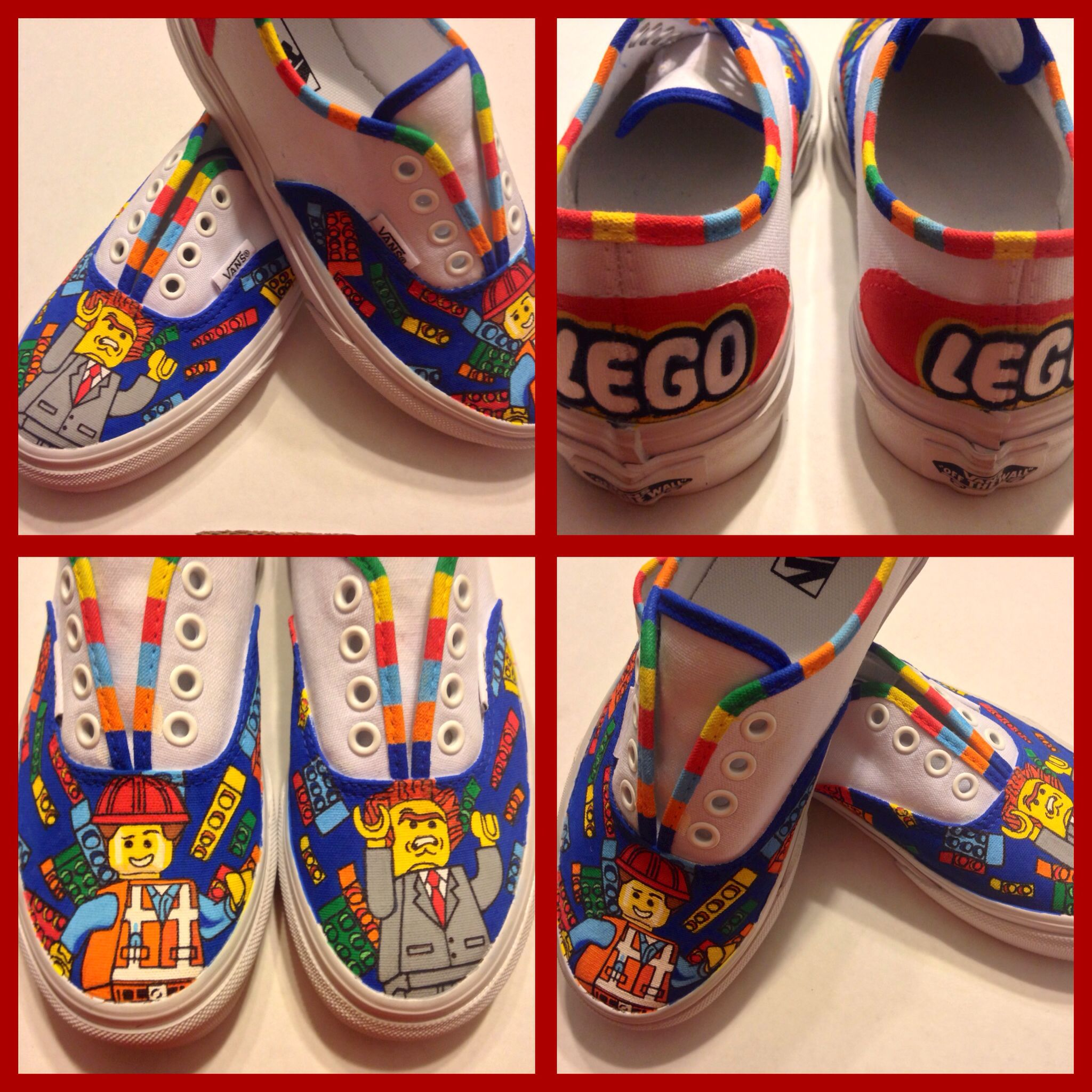 amp; Business Lego Lord Emmett Shoes Movie Inspired Pinterest Vans xPInqIYf