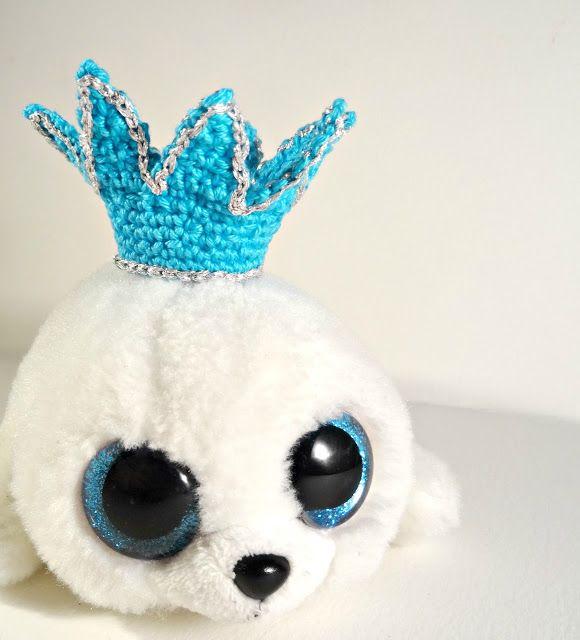 Dani and Bel: The royal plush seal`s crochet crown | Amigurumi og ...