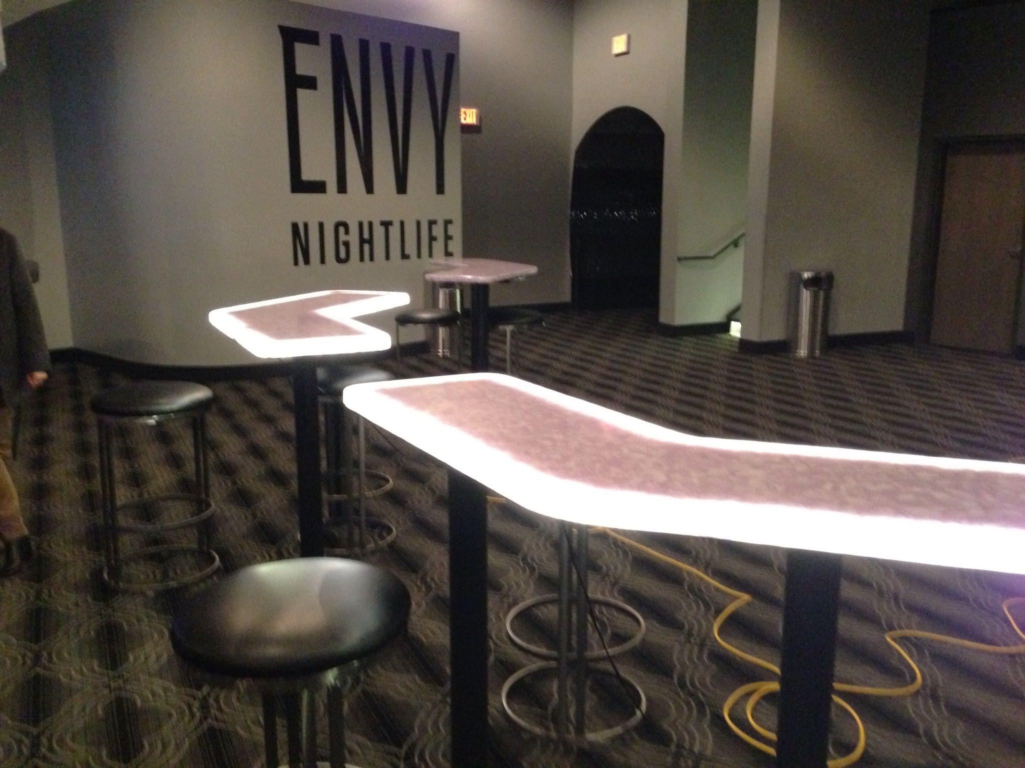 Avonite Studio Collection - Petals - at Envy nightclub in Casino 66 ...