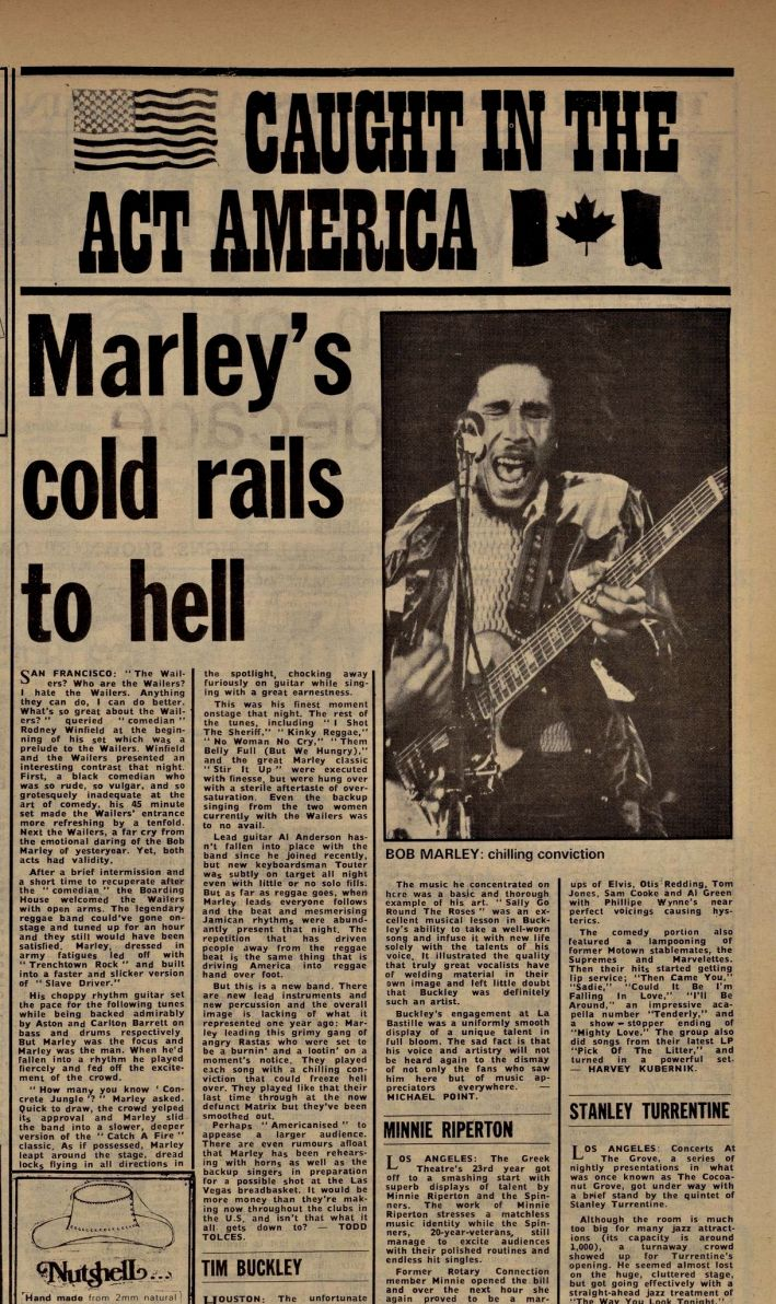 #TodayInBobsLife (7/7/75): Bob & The Wailers play at the #BoardingHouse in San Fran. Listen to the full concert here: http://bobmarleyconcerts.com/1975.php
