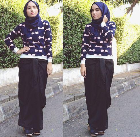 Padu Padan Sweater Dan Rok C 2016 Pinterest Com Casual Fashion