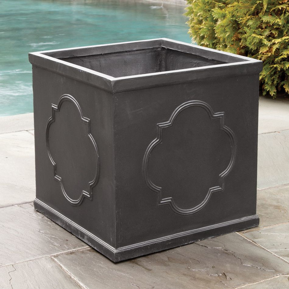 Napa Home & Garden Quatrefoil Planter Box & Reviews