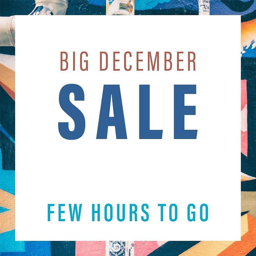 Holiday Season Get Ready for the December SALE! Just Few Hours Away. . . . . . #bigsale #megasale #grandsale #christmas #december #saletime #lovediscounts #shipsin24hrs #quickdelivery #saleshopping #partyseason #winterfashion #decembersale #sale
