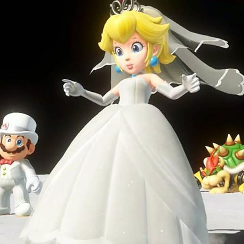 Peach whew thank goodness that 39 s over with super mario - Princesse dans mario ...